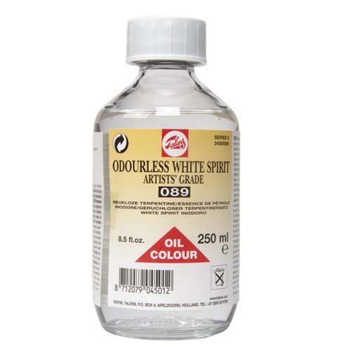 White Spirit sin olor Talens, 250ml