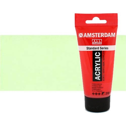 Acrílico Amsterdam n. 256 color amarillo reflex (120 ml)
