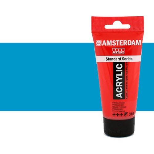 Acrílico Amsterdam n. 572 color cyan primario (250 ml)