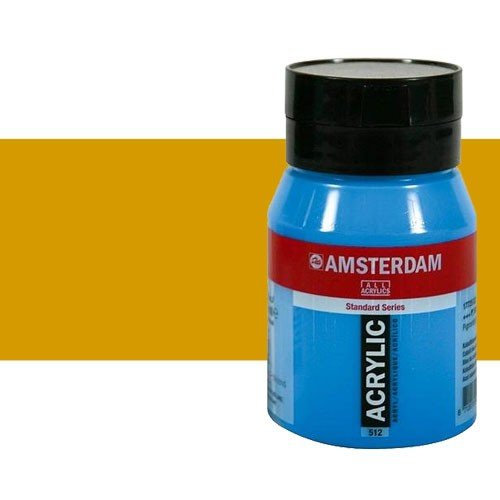 Acrílico Amsterdam n. 227 color ocre amarillo (500 ml)