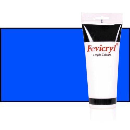 Acrílico Fevicryl n. 13 color azul cian primario (200 ml)