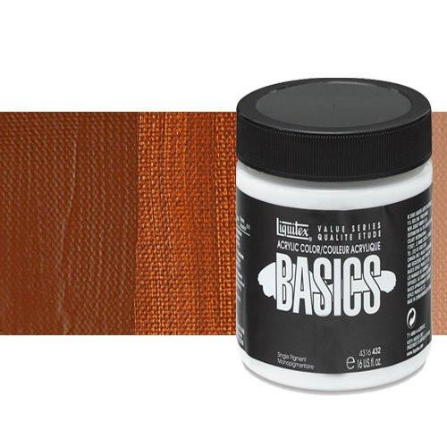 Acrílico Liquitex Basics color tierra siena tostada (946 ml)