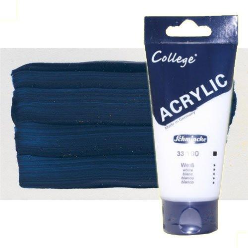 Acrílico Schmincke color índigo (200 ml)