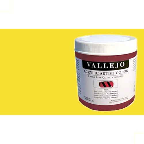 Acrílico Vallejo Artist n. 422 color amarillo de cobalto tono (500 ml)