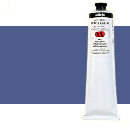 Acrílico Vallejo Artist n. 405 color azul de Prusia tono (200 ml)