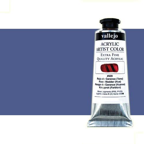 Acrílico Vallejo Artist n. 405 color azul de Prusia tono (60 ml)