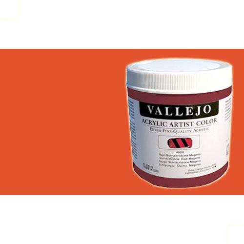 Acrílico Vallejo Artist n. 821 color naranja pirrol (500 ml)