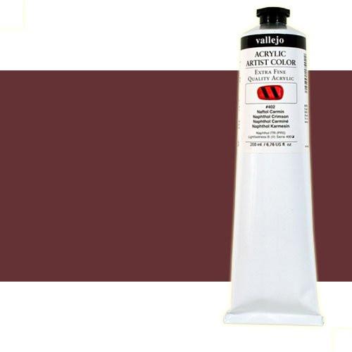 Acrílico Vallejo Artist n. 311 color siena tostada (200 ml)
