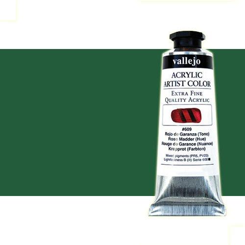 Acrílico Vallejo Artist n. 407 color verde ftalocianina (60 ml)