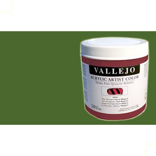 Acrílico Vallejo Artist n. 411 color verde de Hooker (500 ml)