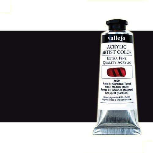 Acrílico Vallejo Artist n. 312 color violeta de Marte (60 ml)