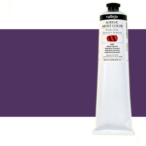 Acrílico Vallejo Artist n. 403 color violeta permanente (200 ml)