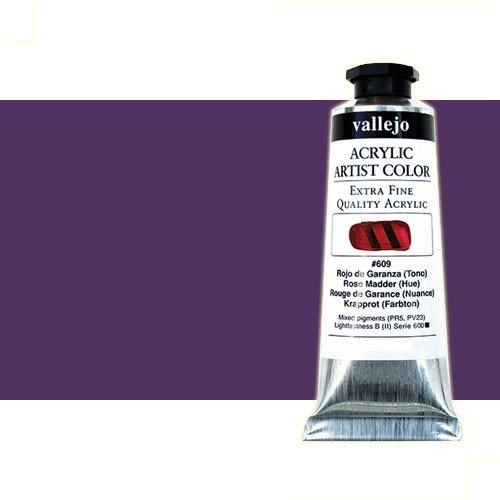 Acrílico Vallejo Artist n. 403 color violeta permanente (60 ml)