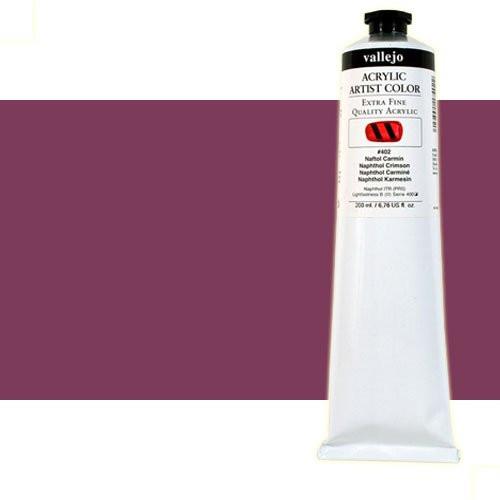 Acrílico Vallejo Artist n. 810 color violeta de quinacridona (200 ml)