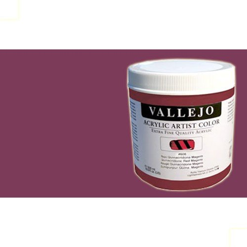 Acrílico Vallejo Artist n. 810 color violeta de quinacridona (500 ml)