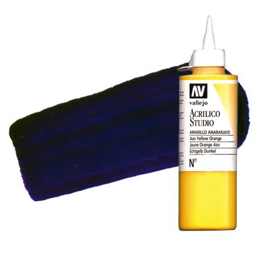 Acrílico Vallejo Studio n. 14 color violeta de dioxacina (200 ml)