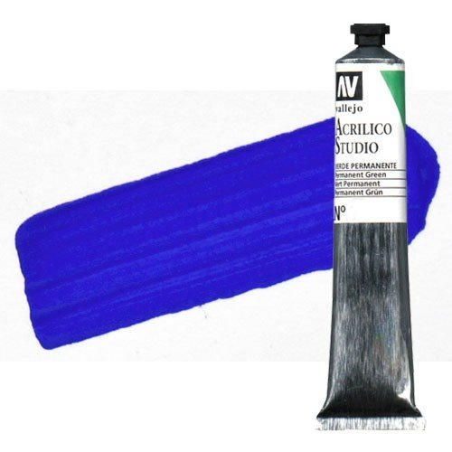 Acrílico Vallejo Studio n. 25 color azul de cobalto (58 ml)