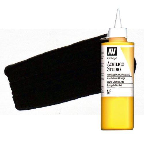 Acrílico Vallejo Studio n. 49 color pardo Van Dyck (200 ml)