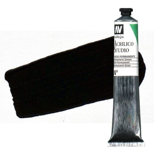 Acrílico Vallejo Studio n. 49 color pardo Van Dyck (58 ml)