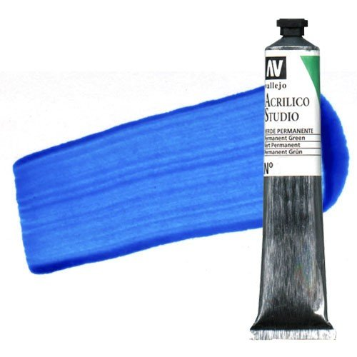 Acrílico Vallejo Studio n. 936 color azul fluorescente (58 ml)