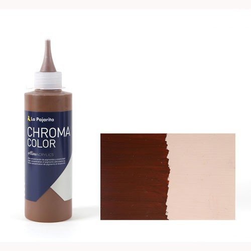 Acrílico La Pajarita 30 Tierra de Sombra Natural Chroma Color (200 ml.)