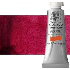 Acuarela Artist Winsor & Newton color carmesí alizarina 004 (14 ml)