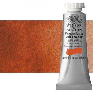 Acuarela Artist Winsor & Newton color rojo claro 362 (14 ml) S1