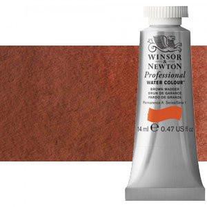 Acuarela Artist Winsor & Newton color rojo de Venecia 678 (14 ml) S1