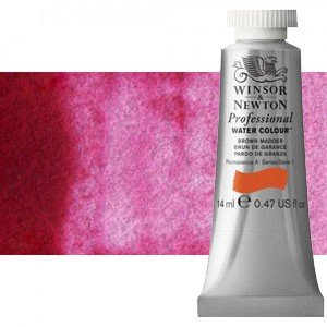 Acuarela Artist Winsor & Newton color rosa granza genuino 587 (14 ml) S4