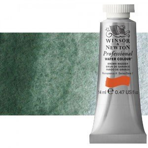 Acuarela Artist Winsor & Newton color tierra verde 637 (14 ml) S1