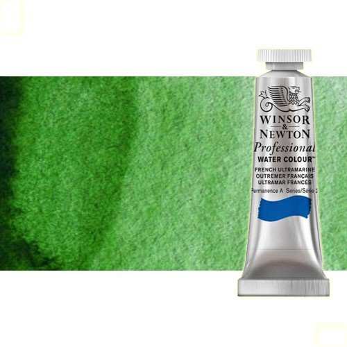 Acuarela Artist Winsor & Newton color verde Hooker 311 (5 ml) S1