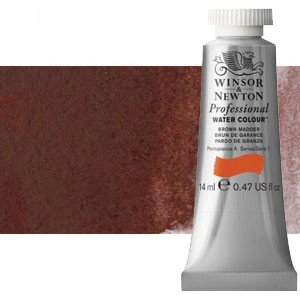Acuarela Artist Winsor & Newton color violeta caput mortuum 125 (14 ml) S2