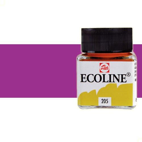 Acuarela líquida Ecoline Talens color violeta rojizo (30 ml)