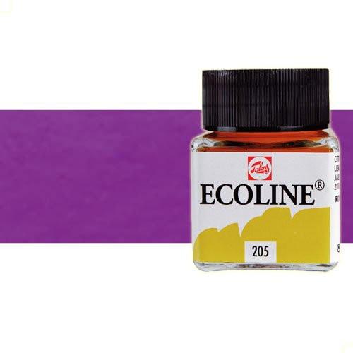 Acuarela líquida Ecoline Talens color violeta azulado (30 ml)