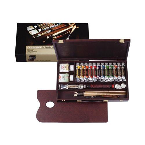 Caja de madera Professional óleo Rembrandt