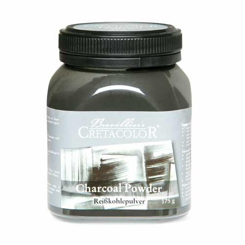 Carboncillo en polvo Cretacolor bote de 175 gr.