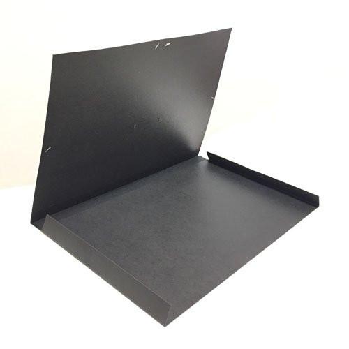 Carpeta de gomas, solapas 72x102 con asa, negra