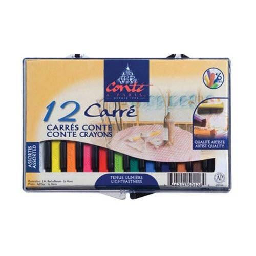 Caja Carres Conte 12 uds. selección retrato