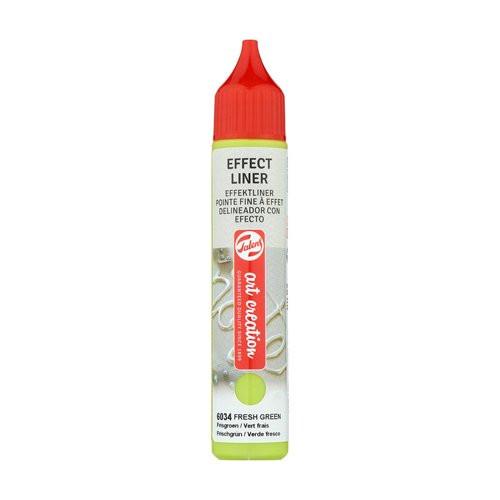 Delineador Efecto Verde Fresco 6034, 28 ml. ArtCreation