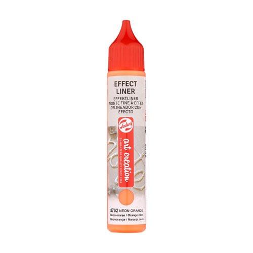 Delineador Efecto Naranja Neón 8702, 28 ml. ArtCreation