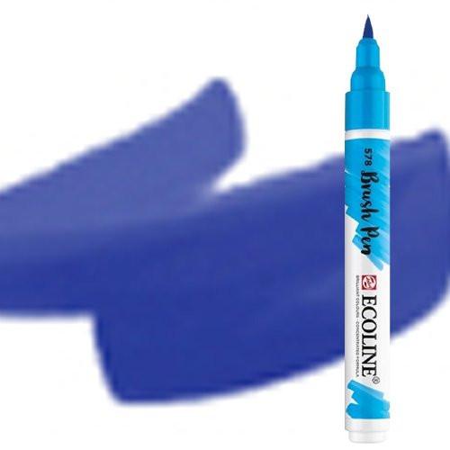 Rotulador Acuarela Ecoline Brush Pen Ultramar Violeta