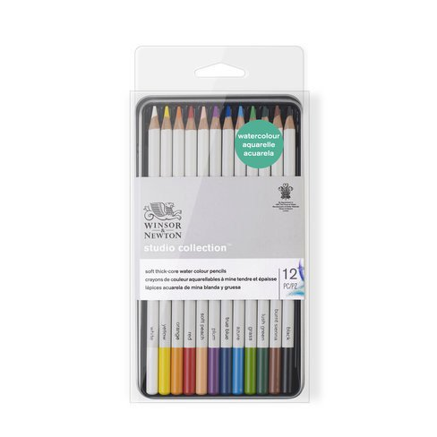 Estuche de 12 lápices acuarela Studio Collection Winsor&Newton