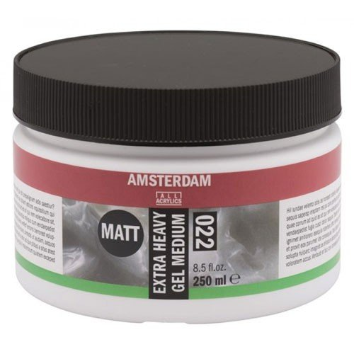 Gel Medium Extra Espeso Mate 022, Amsterdam 250 ml.