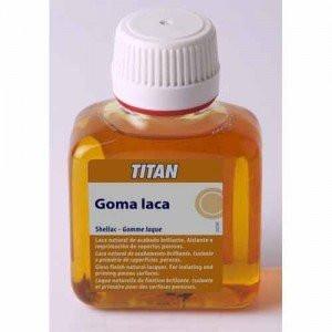 Goma laca Titan, 100 ml.
