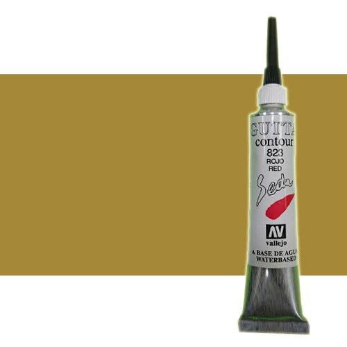 Gutta contour Vallejo, Oro 20 ml