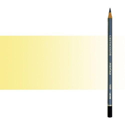 Lápiz acuareable Cretacolor Marino color amarillo limón