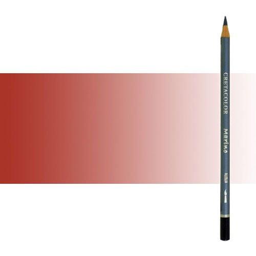 Lápiz acuareable Cretacolor Marino color rojo inglés