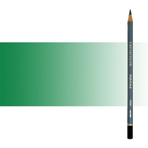 Lápiz acuareable Cretacolor Marino color verde moss oscuro