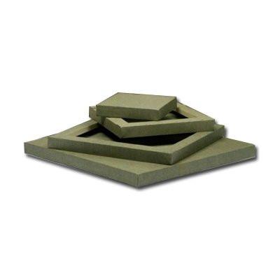 Lienzo 3D Totenart color crudo (40x40 cm)