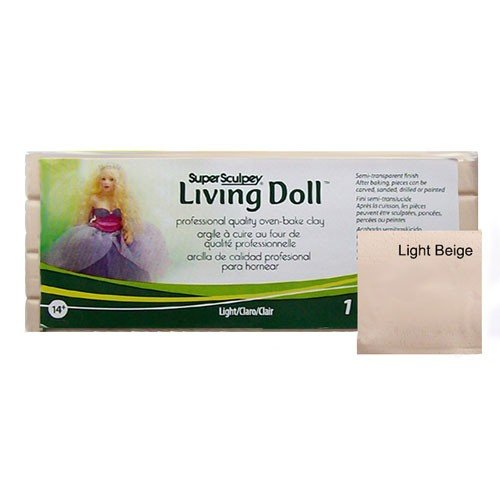 Sculpey Living Doll Claro, 454 gr.